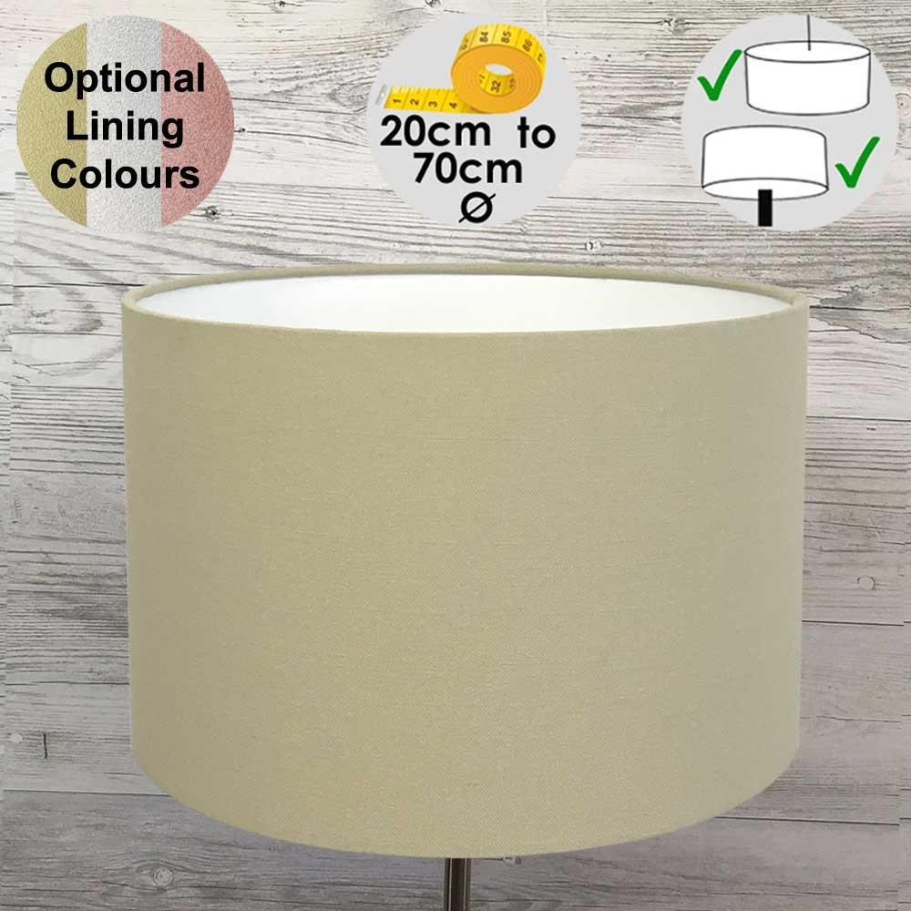 Aura Drum Table Lamp Shade Herb